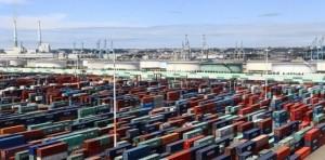 Conteneurs port du Havre